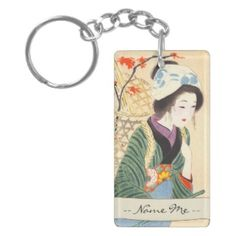 Hirezaki Eiho Beauties of the Twelve Months, Bijin Key Chain