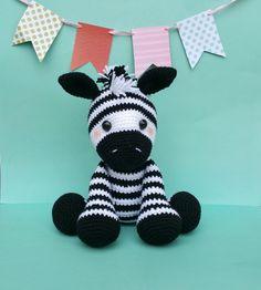 zebra zebra crochet pattern zebra doll by ThePinkFoxStitches