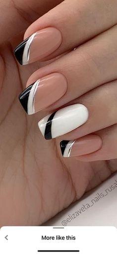 Cute Gel Nails, Chic Nails, Fancy Nails, Stylish Nails, Trendy Nails, Elegant Nails, Classy Nails, Simple Nails, Elegant Nail Designs