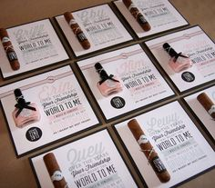 Bridal Party Proposal Cards by Creative with a  K