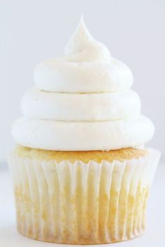 Perfect Whipped Buttercream- You are less than 20 seconds away from knowing how to pipe the PERFECT swirl on your cupcake! My video and technique are no fail!