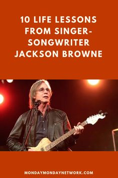 The interviewer has often said that musicians like John Lennon describe their songwriting as pulling a creative muse from the musical ether. But, with Jackson Browne, it's more like putting on a kettle of tea and solving a math problem. Browne works and works to make the song as good as it can be. Rock And Roll Artists, Monday Monday, Jackson Browne, Dark And Twisted, Louis Armstrong, Rock N Roll Music, Live Rock, Bob Dylan, John Lennon