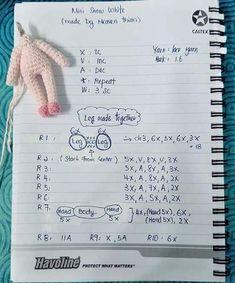 Octopus Crochet Pattern, Crochet Dolls Free Patterns, Amigurumi Patterns, Amigurumi Doll, Crochet Designs, Doll Patterns, Crochet Toys, Crochet Stitches, Free Crochet