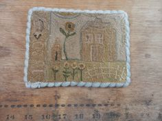 1820 Saltbox… wool strip for edging