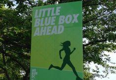 Running the Nike Women's Half Marathon for the little blue box...