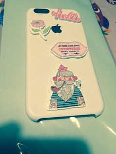 Re-brand my i phone 6 cover situazione steackers 😍