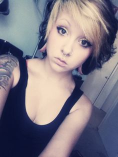 Love how flawless she is!!!<333 and the stretched ears finish it off<3