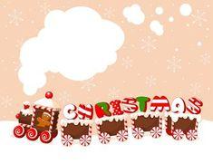 Christmas gingerbread train vector image on VectorStock Christmas Train, Christmas Cats, White Christmas, Vintage Christmas, Christmas Holidays, Gingerbread Train, Christmas Gingerbread, Train Vector, Flip Image