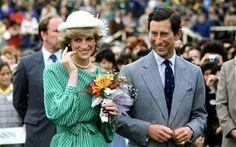 April 18, 1983: The Royal  couple Princess Diana and Prince Charles visit Auckland, New Zealand.