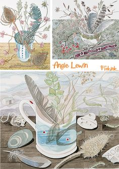 Love her work. Inspiration too for textile art.
