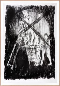 Buy original art online from emerging artists from South Africa at contemporary gallery StateoftheART. Online Art, My Drawings, Ladder, Paper Art, Contemporary Art, Original Art, Africa, Kitty, Gallery