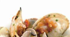 Almejas con salsa marinera de cebolla sencilla receta de entremés #deliciosa #cocina #sencilla
