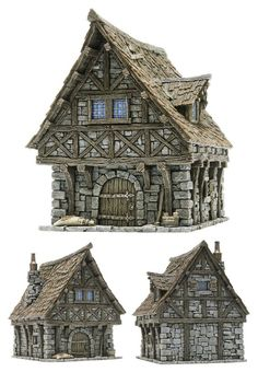 CoolMiniOrNot - Tabletop World Townhouse by Tabletop World