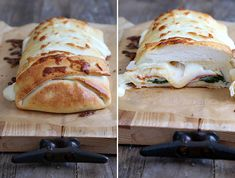 Braided Stuffed Spinach and Pepperoni Gluten Free Pizza - Gluten-Free on a Shoestring