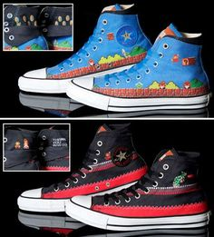Geeky Gaming Converse