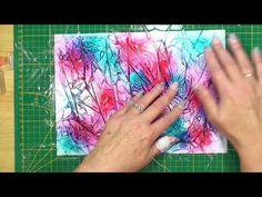 Frischhaltefolie als Hintergrund mit Produkten von Stampin´UP! - YouTube