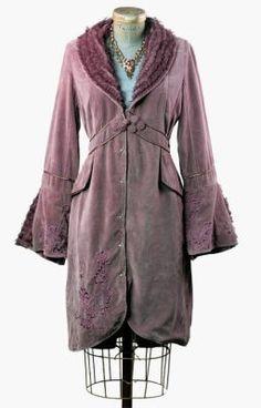 aubergine poet's jacket