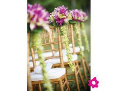 Decoración de boda hawaiiana