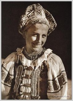 Woman from Heľpa, Slovakia | Costume History