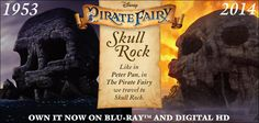 Adventure awaits for the Fairies when they visit Peter Pan's Skull Rock in The Pirate Fairy! See how their worlds come together.