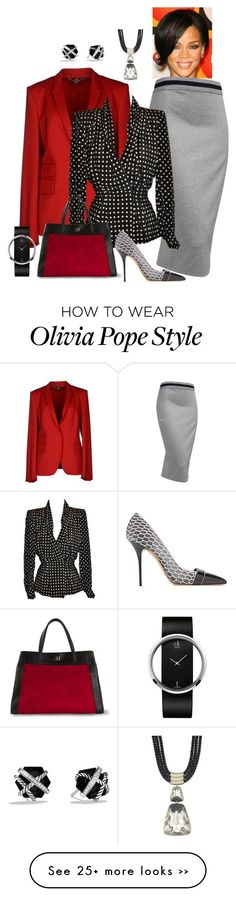 """""""Spicing Up Olivia Pope"""" by andreaaitken on Polyvore"""