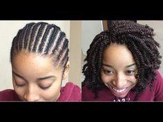 Crochet Braids Hairstyles Senegalese Twists Watches Ideas For 2019 Crotchet Braids, Crochet Braids Hairstyles, African Braids Hairstyles, Spring Twist Hair, Spring Twists, Natural Braided Hairstyles, Twist Hairstyles, Crochet Hair Styles, Fine Hair