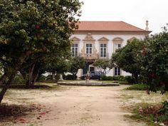Quinta da Portela ou Palácio ds Marqueses de Pomares, Coimbra.