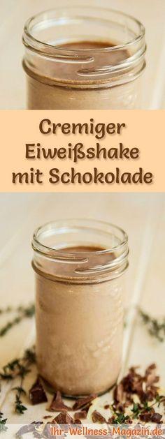 Schokoshake mit Eiweiß und weitere leckere Abnehmshakes, Eiweißshakes & Smoothies zum selber machen für die schlanke Linie ...