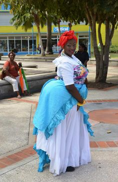 The Mother Sally, an integral part of Bajan culture.