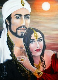 Art And Illustration, Illustrations, Santa Sara, Couple Art, Gypsy Soul, Beautiful Paintings, Art Music, Mona Lisa, Couples