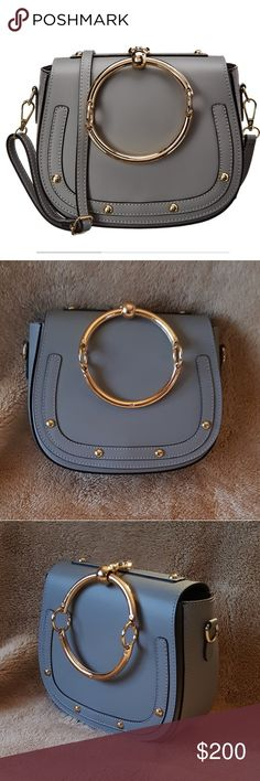 43a8437b8bd2 Giulia Massari - Leather Shoulder Bag NWT Giulia Massari - 100% Genuine  Leather Shoulder Bag
