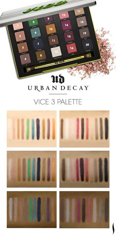 We swatched the Urban Decay Vice3 palette to see how the colors looked on different skintones. What do you think?  Do you have a swatch of this palette? Post a pic in the thread below!   Shop Urban Decay Vice3 palette> http://www.sephora.com/vice3-P388527?skuId=1644848