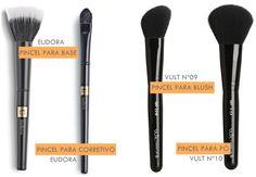 Pra que serve cada pincel de maquiagem?