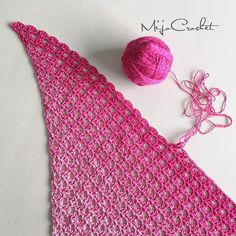 Whirl Raspberry rocky roads  . #mijocrochet #favoritgarner #scheepjes #scheepjeswhirl #crochetshawl #virkadsjal #crochetscarf