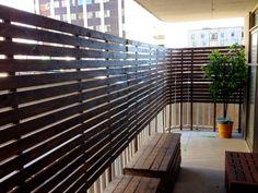 Beautiful DIY balcony makeover by Ashley Mathai inspired by my NYC balcony - thanks for sharing Ashley! #EYSINSPIRED