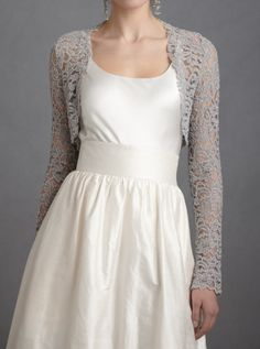 everlytrue: [Lady Grey Shrug by BHLDN]   The World in Pictures from the LifestyleFiles