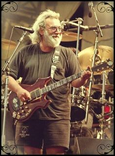 Jerry Garcia - I'll never forget seeing those eyes and that smile from 50 yards away.