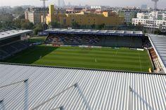 Generali Arena - Austria Wien Football Stadiums, Baseball Field, Austria, Architecture, Arquitetura, Architecture Design