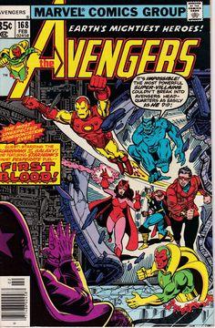 Avengers #168, February 1978 Issue - Marvel Comics - Grade NM
