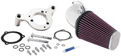 http://peakmomentum.org/?qpn-pinnable-post=kn-63-1125p-harley-davidson-performance-intake-kit Guaranteed to provide more HP and increased acceleration Engineered to specific vehicle design Easy to install Washable and reusable Replaces OEM filter and air box Works with manufacturer computer systems Designed to use factory holes and mounting points whenever possible Street legal in most states (not street legal in CA ch...