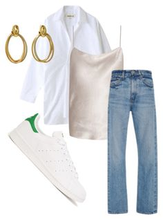 """""""Stay cool"""" by trendsy ❤ liked on Polyvore featuring Enföld, The Row, Brock Collection, Cartier and adidas Originals"""