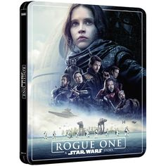 Rogue One: A Star Wars Story – Zavvi Exclusive 4K Ultra HD Steelbook (3 Disc Edition includes Blu-ray) Blu-ray - Zavvi UK Rogue One Star Wars, Ver Star Wars, Diego Luna, Lord Sith, Jedi Sith, Rogue One Poster, Rogue One 2016, Trailer Peliculas, Star Wars