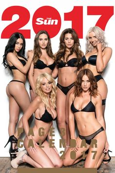 Page 3 Girl Calendar 2017 Outtakes Holly Peers, Rosie Jones, Sexy Makeup, Santa Lucia, I Love Girls, Hey Girl, Beautiful Lingerie, Female Bodies, Women Lingerie