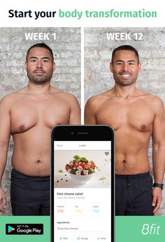 8fit app: your roadmap to a healthier, leaner, stronger you.  Download the App on the Play Store