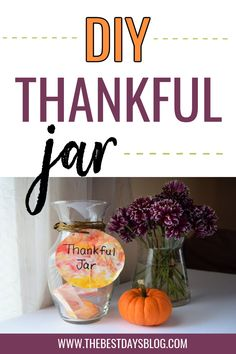 Making a thankful jar is a great way to help your kids focus on feeling grateful this holiday season. Here's how to make a family gratitude jar using shaving cream marbled paper. Thanksgiving Post, Thanksgiving Crafts For Toddlers, Thanksgiving Traditions, Toddler Preschool, Toddler Crafts, Toddler Activities, Fun Activities, Gratitude Book, Grateful