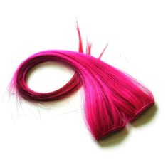 "20"""" Clip-In Human Hair Streaks, Strawberry"