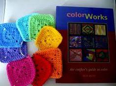 Resultado de imagen para teoria del color en crochet