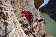 Caminito del Rey chemin le plus dangereux du monde 3   Caminito del Rey: le chemin le plus dangereux du monde?   record du monde photo image...