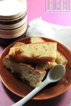 torta semplice colazione farina farro marmellata contemporaneo food Torta al farro e marmellata di albicocche...la colazione è servita!
