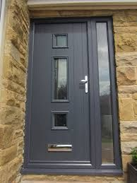 Image result for anthracite grey upvc windows smooth finish Grey Windows, Upvc Windows, Back Doors, Entry Doors, Grey Upvc Doors, Indoor Outdoor, Outdoor Decor, Front Entry, Beautiful Interiors